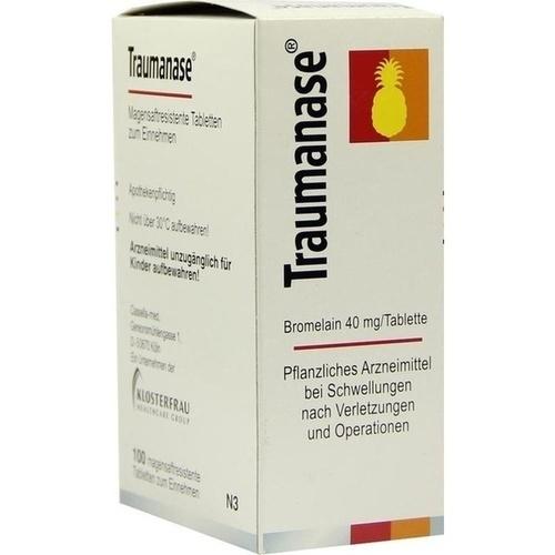 TRAUMANASE magensaftresistente Tabletten