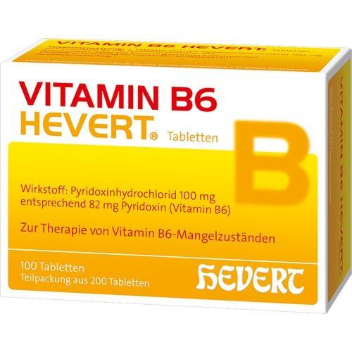 VITAMIN B6 HEVERT Tabletten