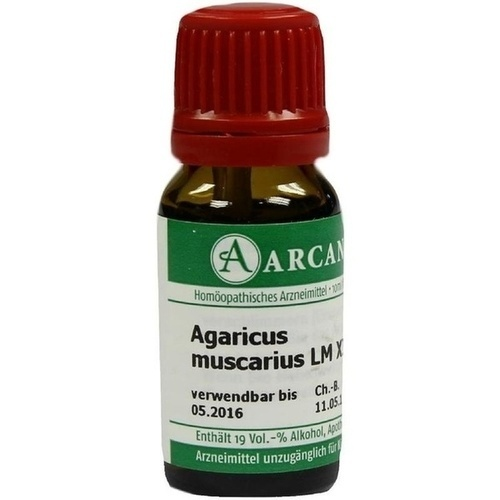 AGARICUS MUSCARIUS LM 12 Dilution 10 ml