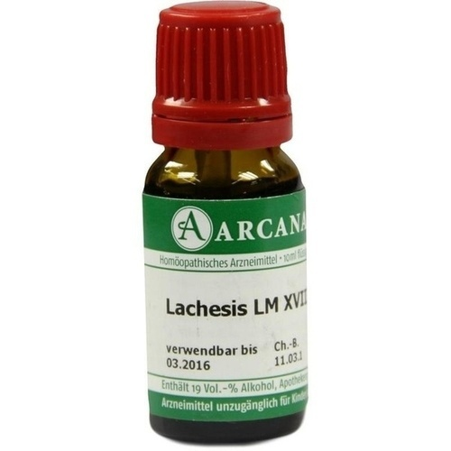 LACHESIS LM 18 Dilution