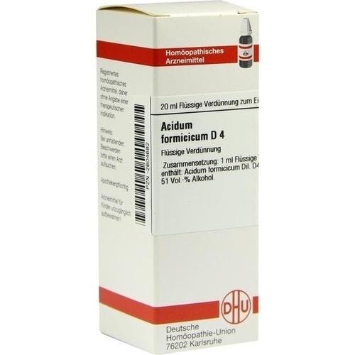 ACIDUM FORMICICUM D 4 Dilution