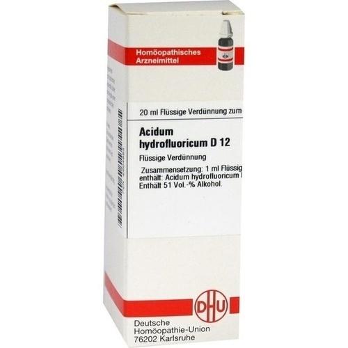 ACIDUM HYDROFLUORICUM D 12 Dilution