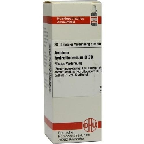 ACIDUM HYDROFLUORICUM D 30 Dilution