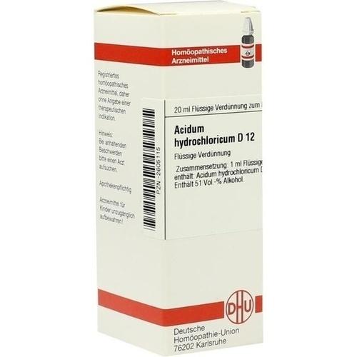 ACIDUM HYDROCHLORICUM D 12 Dilution