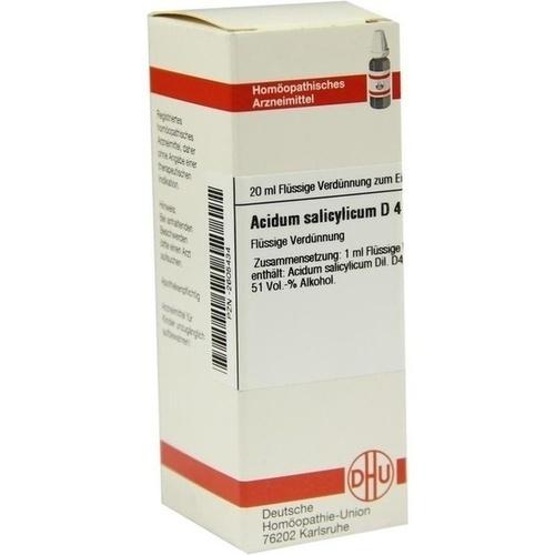 ACIDUM SALICYLICUM D 4 Dilution