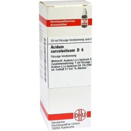 ACIDUM SARCOLACTICUM D 6 Dilution