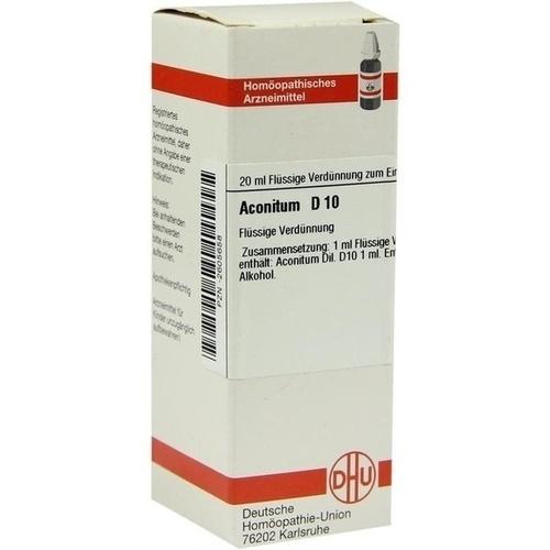 ACONITUM D 10 Dilution