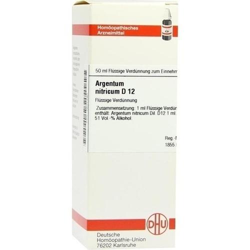 ARGENTUM NITRICUM D 12 Dilution