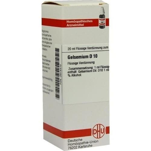 GELSEMIUM D 10 Dilution 20 ml