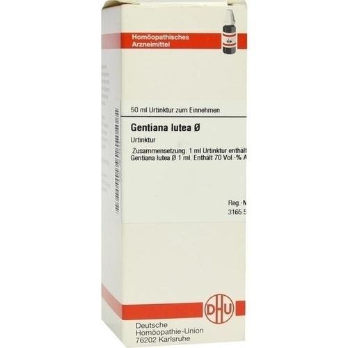 GENTIANA LUTEA Urtinktur 50 ml