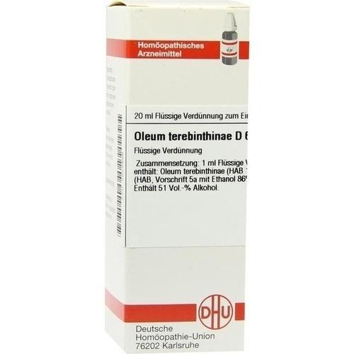 OLEUM TEREBINTHINAE D 6 Dilution