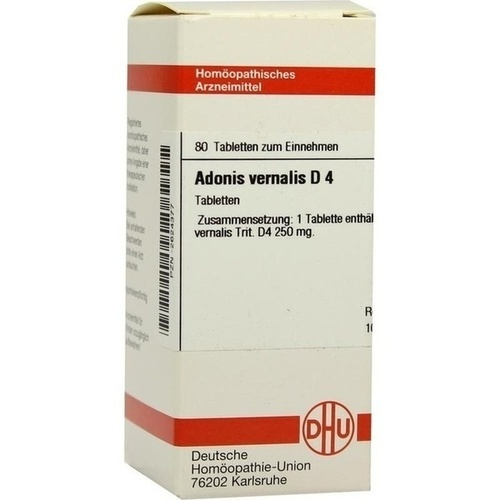 ADONIS VERNALIS D 4 Tabletten
