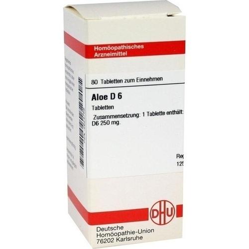 ALOE D 6 Tabletten