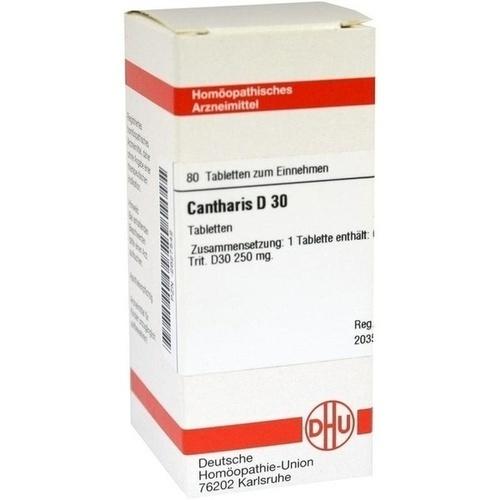 CANTHARIS D 30 Tabletten