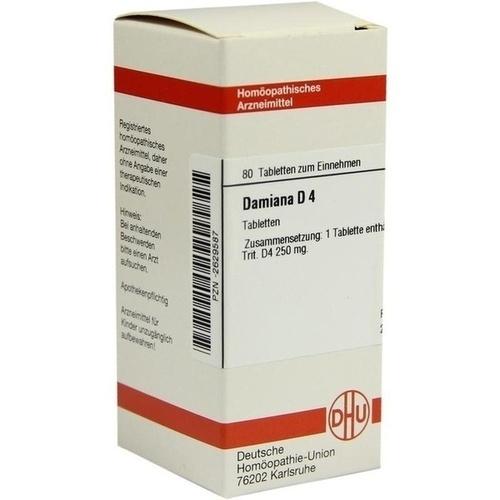 DAMIANA D 4 Tabletten