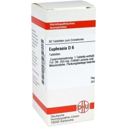EUPHRASIA D 6 Tabletten
