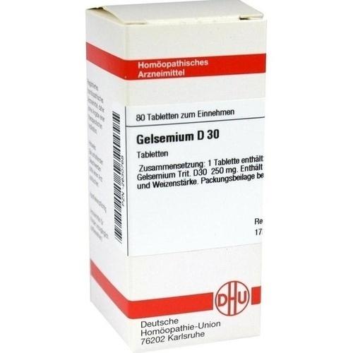GELSEMIUM D 30 Tabletten
