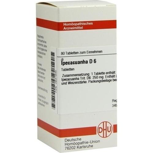IPECACUANHA D 6 Tabletten 80 St | besamex.de
