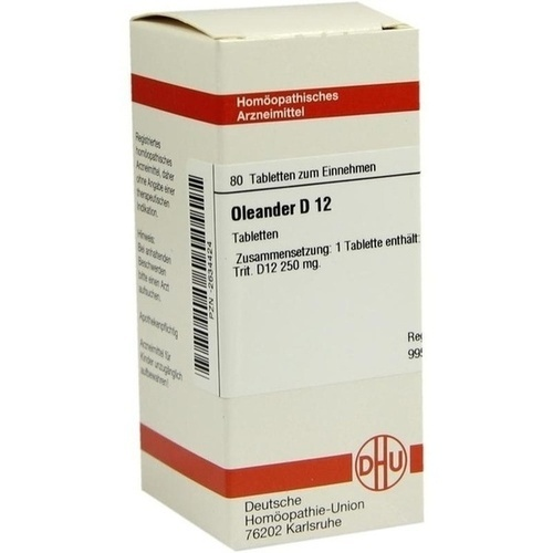 OLEANDER D 12 Tabletten