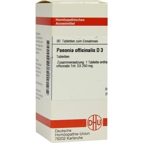 PAEONIA OFFICINALIS D 3 Tabletten