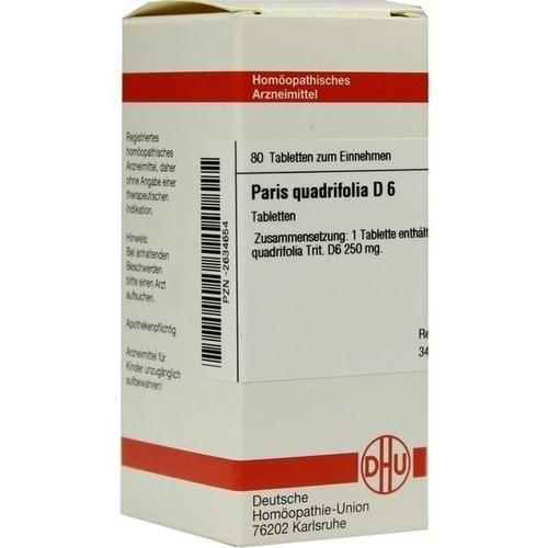 PARIS QUADRIFOLIA D 6 Tabletten