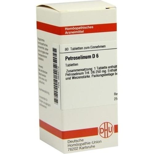 DHU PETROSELINUM D 6 Tabletten 80 St
