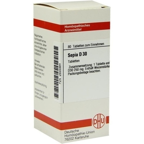 SEPIA D 30 Tabletten