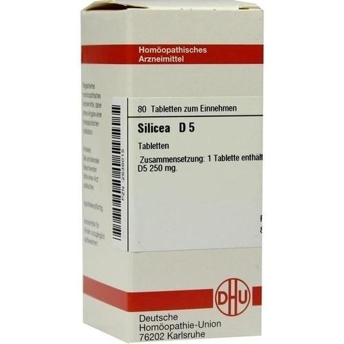 SILICEA D 5 Tabletten