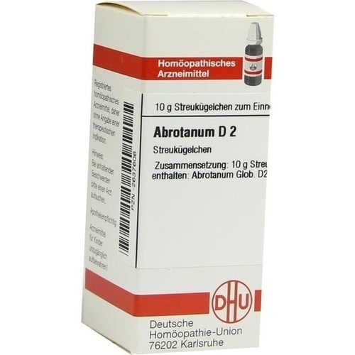 ABROTANUM D 2 Globuli