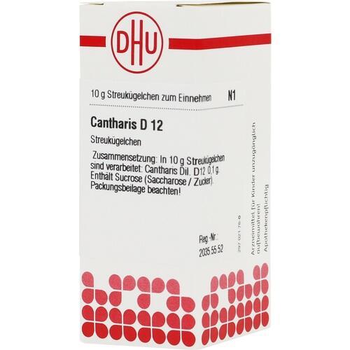 CANTHARIS D 12 Globuli