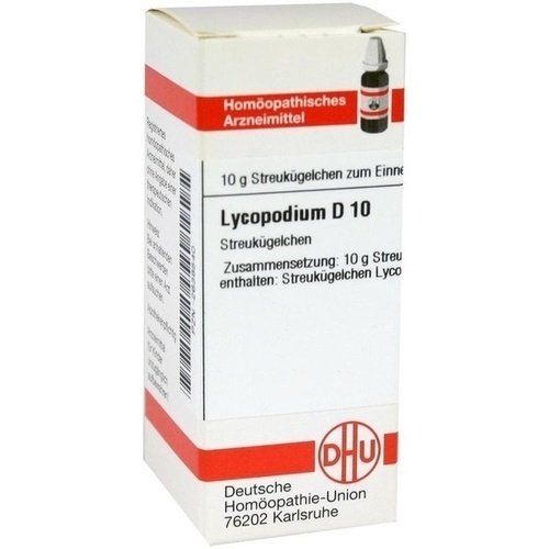 LYCOPODIUM D 10 Globuli