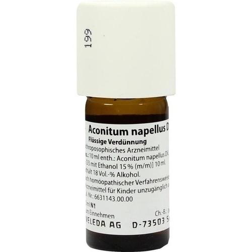 ACONITUM NAPELLUS D 30 Dilution