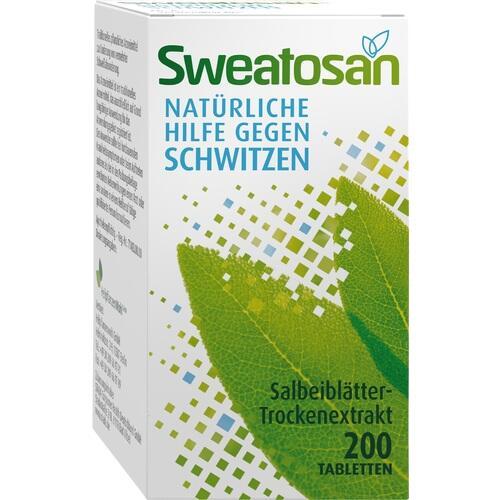 SWEATOSAN überzogene Tabletten 200 St