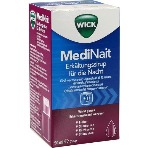 WICK MediNait Erkältungssaft