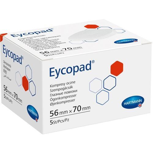 EYCOPAD Augenkompressen 56x70 mm unsteril