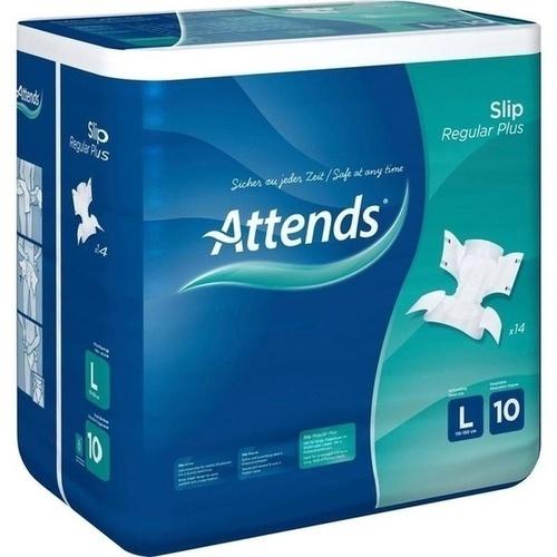 ATTENDS Slip Regular Plus 10 large