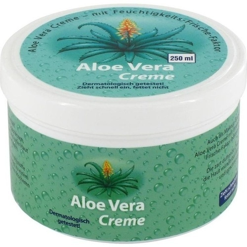 aloe vera hautcreme 250 ml k rperbalsam creme salbe k rper k rperpflege kosmetik. Black Bedroom Furniture Sets. Home Design Ideas