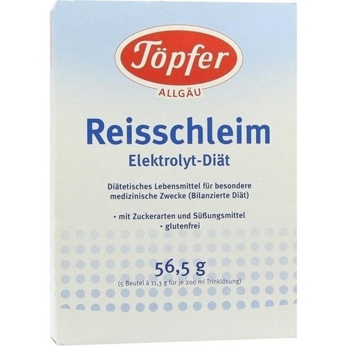 Töpfer GmbH TÖPFER Reisschleim Elektrolyt Diät Pulver 11 g 60018