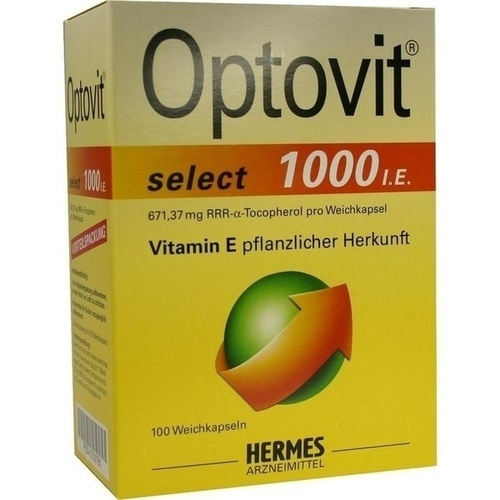 OPTOVIT select 1. 000 I. E.  Kapseln