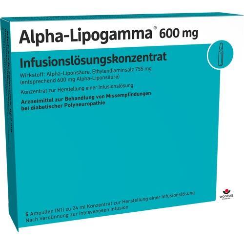 ALPHA LIPOGAMMA 600 Inf.Lsg.Konzentrat Inf.-Lsg.