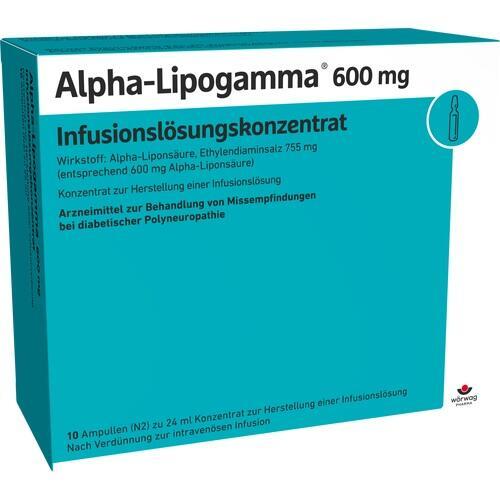 ALPHA LIPOGAMMA 600 Inf. Lsg. Konzentrat Inf. -Lsg.