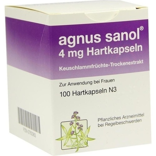 AGNUS SANOL Hartkapseln
