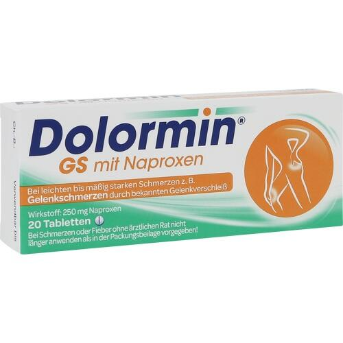 DOLORMIN GS mit Naproxen Tabletten