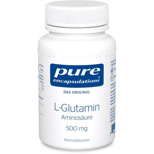 PURE ENCAPSULATIONS L-Glutamin 500 mg Kapseln