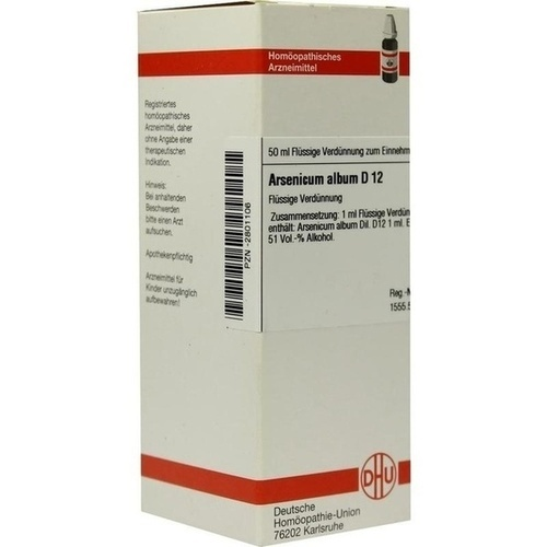 ARSENICUM ALBUM D 12 Dilution