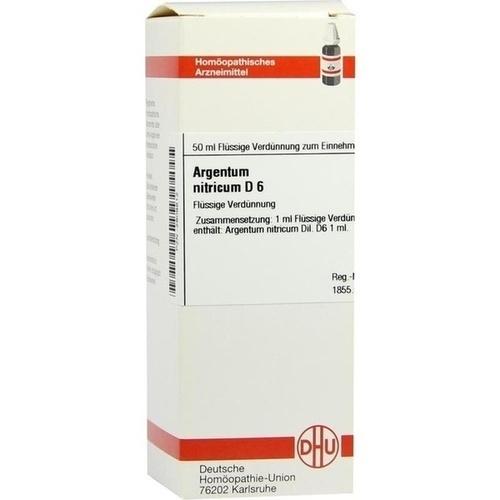 ARGENTUM NITRICUM D 6 Dilution