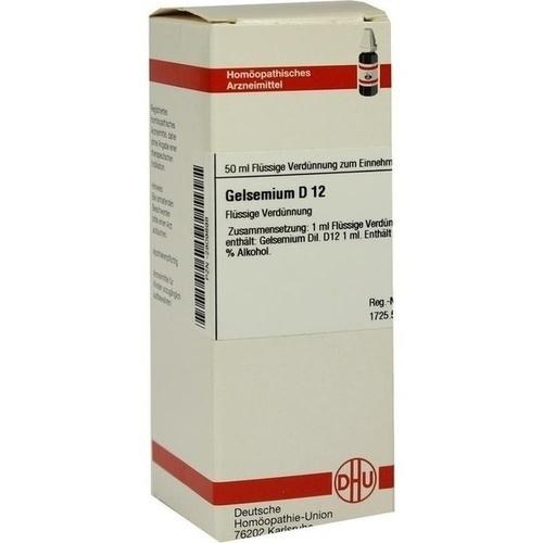 GELSEMIUM D 12 Dilution