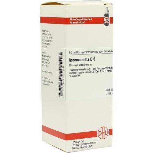 IPECACUANHA D 6 Dilution 50 ml   besamex.de
