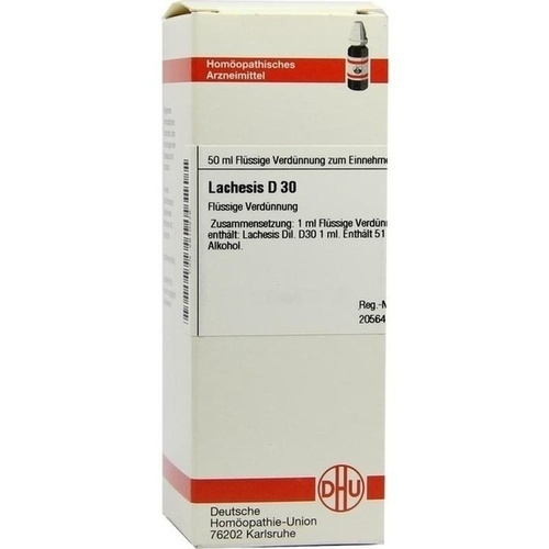 LACHESIS D 30 Dilution
