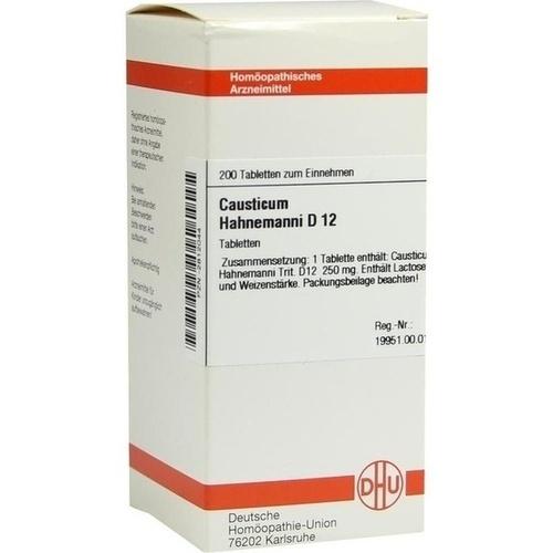 DHU CAUSTICUM HAHNEMANNI D 12 Tablets